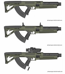 silenced assaultrifle (timberfox15) Tags: gun weapon scifi pmg