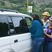 La Dra Maria Telleria y Ana Luisa Perez entregan botiquines medidas de prevencion botellas de aguas y calcomanias.jpg