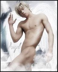 Mitch Hewer - Angel (Kervin R.) Tags: man hot men angel skins heaven mich rojas dario kervin hewer