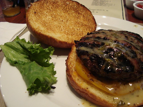 Moroccan Bazaar Burger @ Burger Kitchen