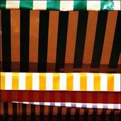 Market Stalls (DanielaNobili) Tags: red green yellow square colours stripes marketstalls thechallengefactory danielanob beccataalvolo