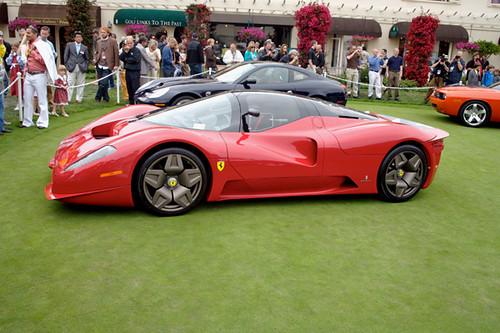 • Ferrari P4/5 by Pininfarina. Pebble Beach Concours. 2006-08-19 112900PM