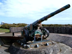 Оружие батареи Мольтка, остров Джерси