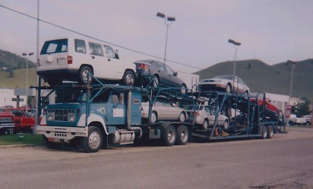 tractor truck honda semi trailer acura gmc 9500