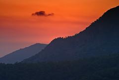 after sundown - Olu Deniz (tattie62) Tags: sunset mountains forest turkey landscape oludeniz 4timesasnice 6timesasnice 5timesasnice