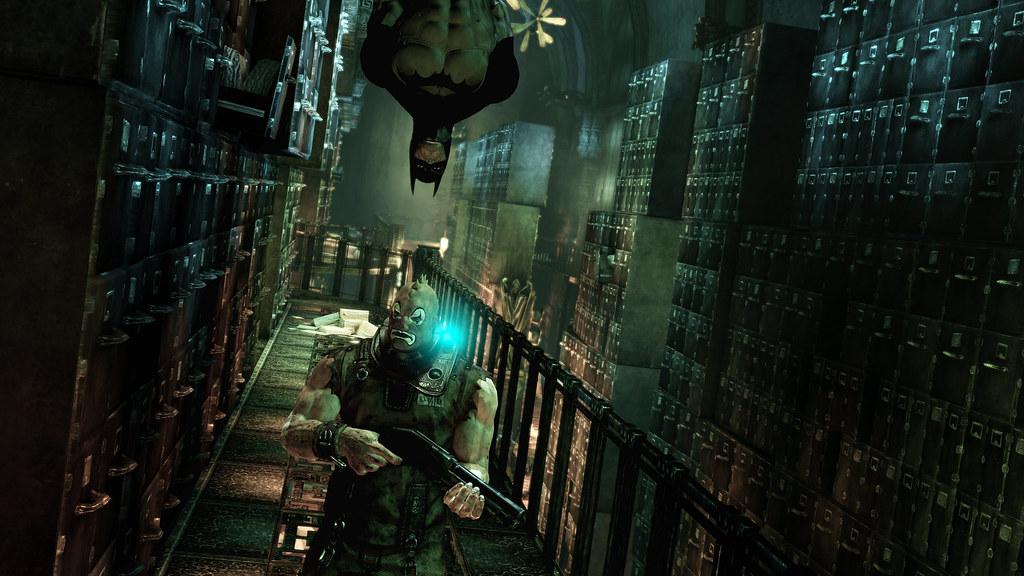 Batman Arkham Asylum techo