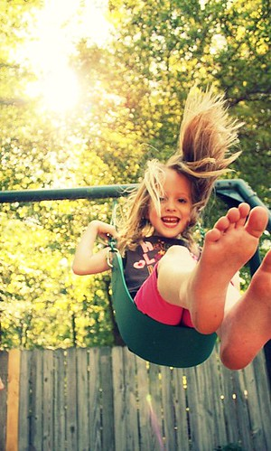 swinging = happiness!