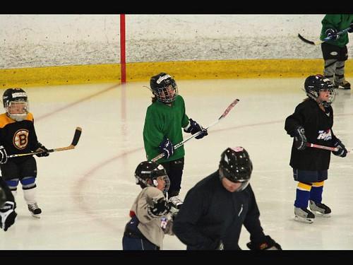 Emma's 1st Hockey Practice