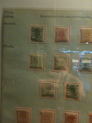 Stamps at British Library