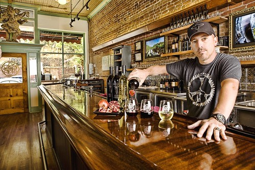 Maynard Behind Bar