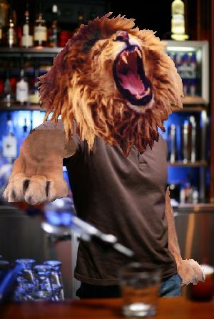 lion bartender