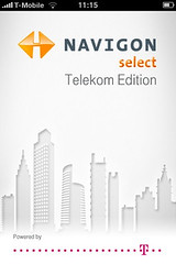Navigon select Telekom Edition