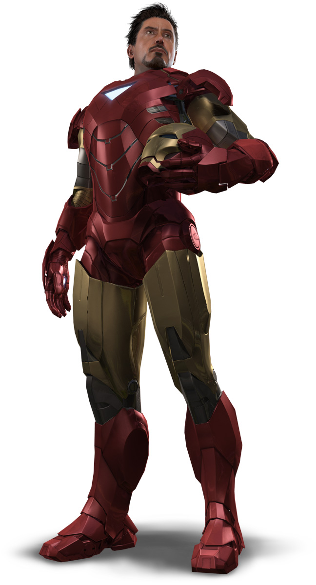 Iron Man 2 Game Tony Stark MK6