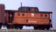 Pennsylavania Railroad caboose. Circa mid 1960's.