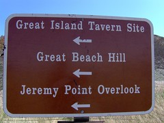 Sign at Great Island (The Cape Cod 2) Tags: beach sign capecod wellfleet greatisland