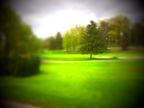 Hershey PA Tilt Shift