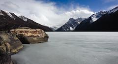 Yihun Lhatso Lake (fanz) Tags: lake beautiful landscape frozen mani tibet holy stunning tibetan kham om himalaya sichuan manigango hum holylake lhatso yihun pedme