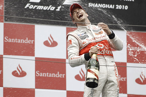 Jenson Button - China 2010