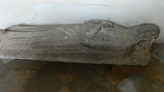 Effigy of Lady c1300, medieval