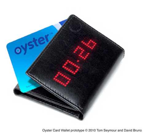 Oyster Card Wallet Prototype - Tom Seymour and David Bruno