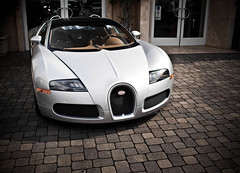 Bugatti Veyron Grand Sport (GHG Photography) Tags: california white car silver spider angeles convertible automotive 164 beverly bugatti supercar sportscar veyron roadster gransport automotivephotography hypercar ghgphotography