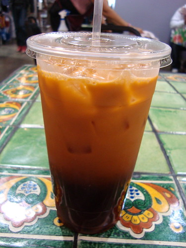 Thai Iced Tea @ Thai Corner