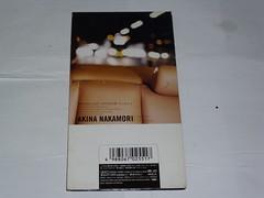 原裝絕版 1996年 8月7日 中森明菜  MOONLIGHT SHADOW CD 原價 1000YEN 中古品 2