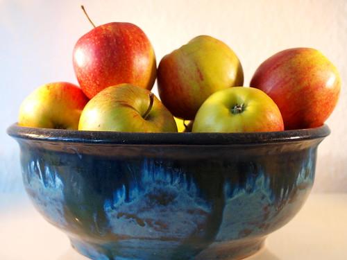 Schale Äpfel