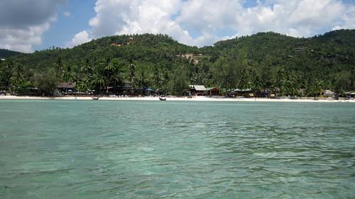 koh Phangan Snorkel Salad Beach コパンガン サラダビーチでシュノーケル1