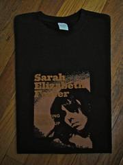 Sarah's Organic Black Men's T-Shirt
