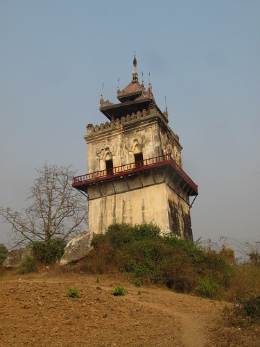 The leaning tower of Inwa