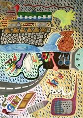 il-salto (micksabatino) Tags: arte michele astratto quadri tela acrilico espressionismo pittura sabatino astrattismo