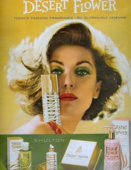 Desert Flower (sugarpie honeybunch) Tags: magazine 60s perfume ad cologne advertisement 1960s fragrance seventeen desertflower shulton