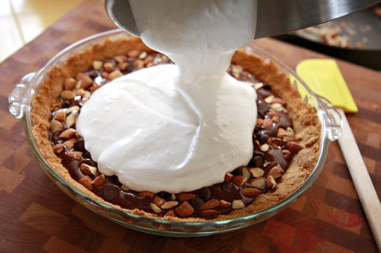 Marshmallow Pie Topping The Marshmallow Topping or