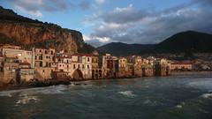 Cefal (e.) Tags: sunset coast sicily sicilia kste cefalu sizilien