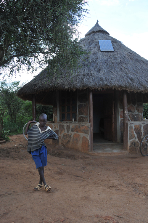 Solar-Power-Hut
