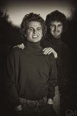 Travis & Kyle (Garrett Meyers) Tags: family kyle photography photo view pants turtle who muscle will crap be only travis times 12 awkward gives necks portriat anyways explored marlatt garrettmeyersfoto
