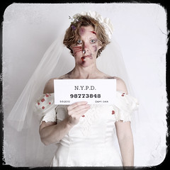 Wedding Day Gone Terribly Wrong... (YetAnotherLisa) Tags: wedding me self bride explore mugshot frontpage arrest mugsgot