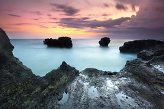 finale (tropicaLiving - Jessy Eykendorp) Tags: sunset sea sky bali seascape nature canon indonesia landscape photography eos outdoor lee reverse saltfish 50d singhray saltygirl