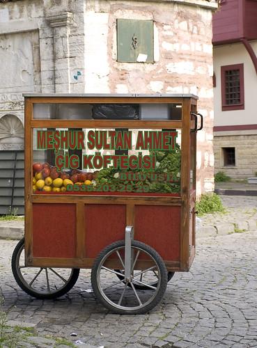 Istanbul Lanes: Vending Machine Selling Kofte