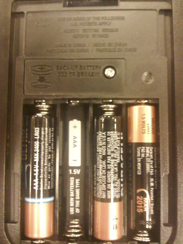 inside of battery