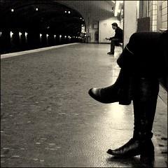 Black Light ~ Cluny La Sorbonne ~ Paris ~ MjYj (MjYj) Tags: world city light woman sun white man black paris france texture love film beauty seine night contrast dark french cool fantastic eyes couple pretty solitude noir day alone hand close time noiretblanc metro lumire femme main yeux course blacklight amour spy temps tones blanc ville cluny homme tendre passant dor encounters espoir lasorbonne mjyj mjyj