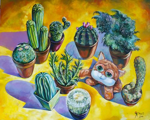 Gwen & Cactus
