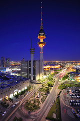 Kuwait - Liberation tower on blue hour ( Saleh AlRashaid / www.Salehphotography.net) Tags: blue sunset seascape tower art sunrise landscape photo nikon long exposure cityscape gulf state photos outdoor middleeast arab hour kuwait nano liberation f4 vr d3 gcc kuwaiti  q8 highest  saleh 1635  kuwaity         safat   stateofkuwait     d3x leefilters   kuwaitphoto kuwaitphotos kuwaitpic q8photo   q8pic    alrashaid salehalrashaid  salehphotographynet