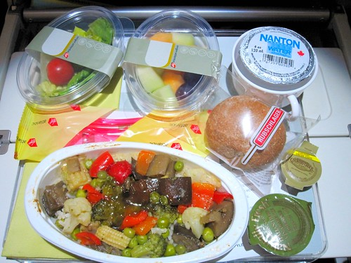 Virgin Atlantic VGML Meal - Dinner