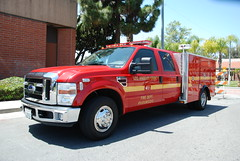 LOS ANGELES COUNTY FIRE DEPARTMENT (LACoFD) SQUAD 41 (Navymailman) Tags: county ford fire la los day angeles service squad recognition department 2010 lacofd losangelescountyfiredepartment