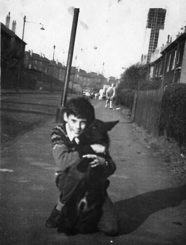 Eddie Robertson Avonspark Street 1960s