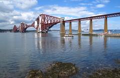 Forth Bridge. (IMG_8792) (Robert G Henderson (Romari).) Tags: forth rail bridge south queensferry scotland river may 2010 boat ship thedailypost