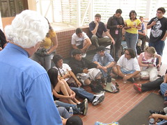 sit-in at AZ State Building in Tucson to protest anti-ethnic studies law - 06