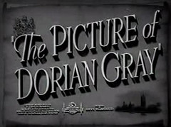 Picture of Dorian Gray title